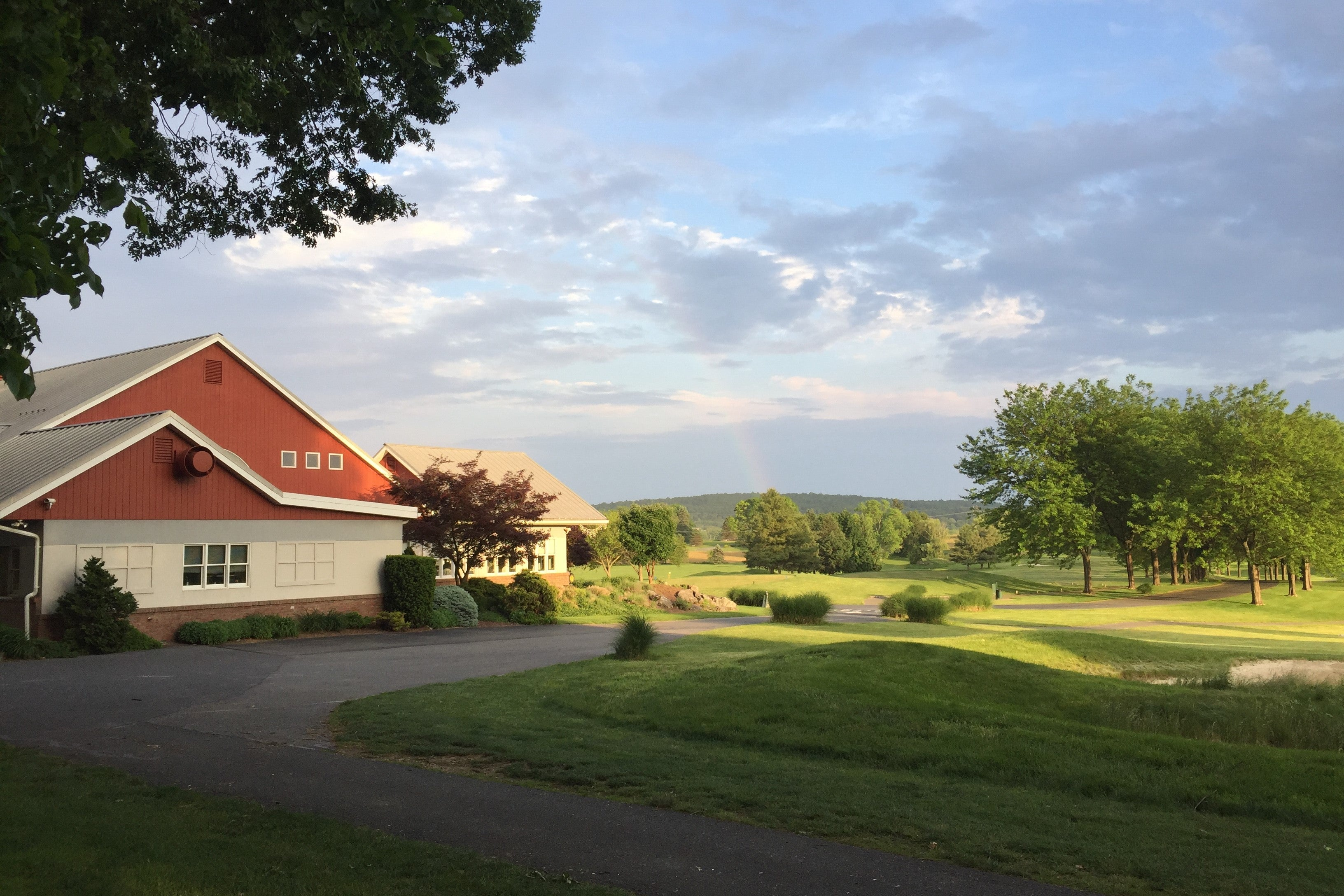 Foxchase Golf Club - View From the Outdoor Banquet/Wedding Facility