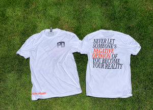 """Orange Negative Opinion"" Tee"