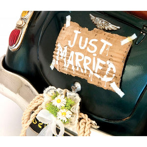 "Scultura in resina Guillelmo Forchino ""Just Married"""