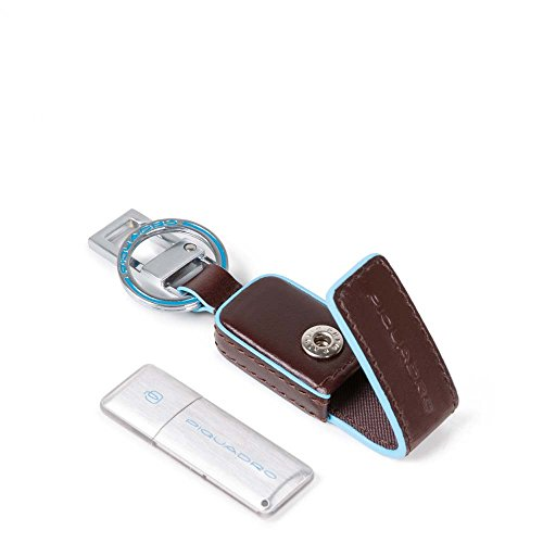 Chiavetta USB 16GB con custodia in pelle Blue Square Piquadro