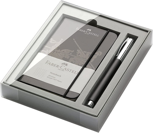 Set penna roller Faber Castell Ambition con quaderno
