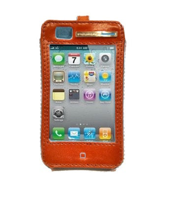 Custodia per iPhone 4 Bluesquare Piquadro  arancio
