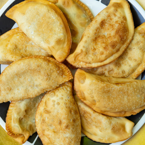 3 Cheese and Onion Empanadas - 1 dozen