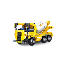 Load image into Gallery viewer, Construction Vehicle Building Blocks Educational Toy
