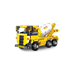 Construction Vehicle Building Blocks Educational Toy