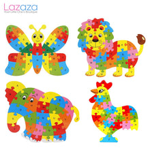Load image into Gallery viewer, 26 Letter Alphabet Jigsaw Puzzle Educational Toy for Kids