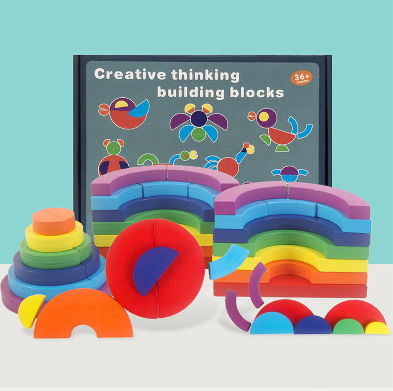 Creative 3D Building Block Fun Learning Game for Kids