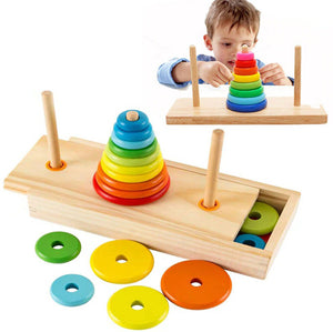 Educational Tower Assembly Board Game For Kids