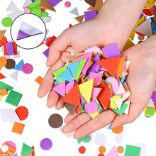 Laden Sie das Bild in den Galerie-Viewer, Geometry Puzzle Self-Adhesive Stickers for Kids