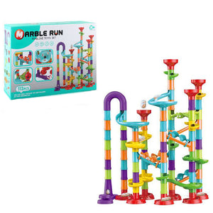 Pipe Maze Balls Track Building Blocks for Kids