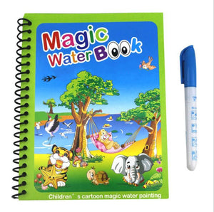 Magic Water Drawing Coloring Book for Kids