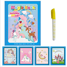 Charger l'image dans la galerie, Magic Water Drawing Coloring Book for Kids