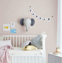 Laden Sie das Bild in den Galerie-Viewer, Charlie The Elephant Wall Plush Toy babycalm.co