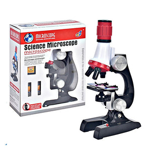 Biological Microscope Educational Toy for Kids