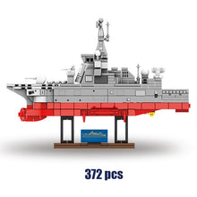 Load image into Gallery viewer, City Military Battleship Model Building Blocks WW2 Technic Warship Boat MOC Figures Bricks Educational Toys for Children Gifts