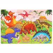 Charger l'image dans la galerie, 30 pcs Wooden Toy Jigsaw Puzzle for Kids Early Education