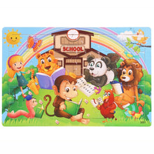 Load image into Gallery viewer, 30 pcs Wooden Toy Jigsaw Puzzle for Kids Early Education