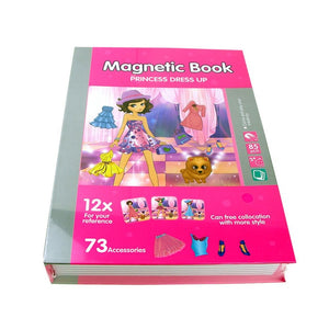 3D Magnetic Book Jigsaw Puzzle Educational Toy for Kids