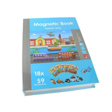 Load image into Gallery viewer, 3D Magnetic Book Jigsaw Puzzle Educational Toy for Kids