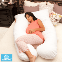 Load image into Gallery viewer, U-Dream™ Maternity Pillow babycalm.co White