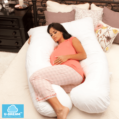 U-Dream™ Maternity Pillow babycalm.co White
