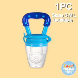 YummyTots™️ Food Pacifier babycalm.co Blue S