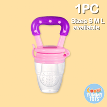 Load image into Gallery viewer, YummyTots™️ Food Pacifier babycalm.co Pink L