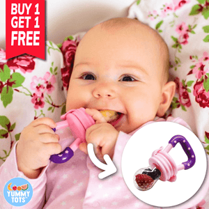 YummyTots™️ Food Pacifier [BUY 1 GET 1 FREE] babycalm.co Blue S (Buy 1 Get 1 Free)