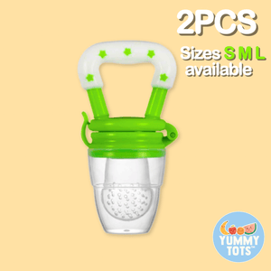 YummyTots™️ Food Pacifier [BUY 1 GET 1 FREE] babycalm.co Green L (Buy 1 Get 1 Free)