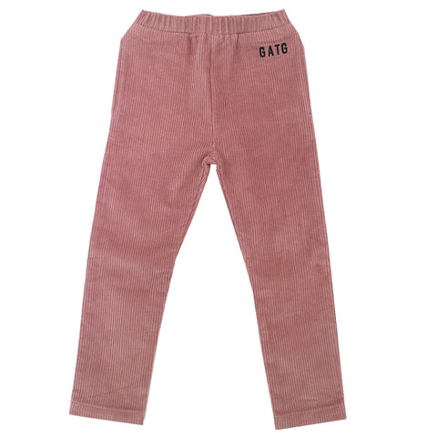 *Corduroy Pants Dusty Pink