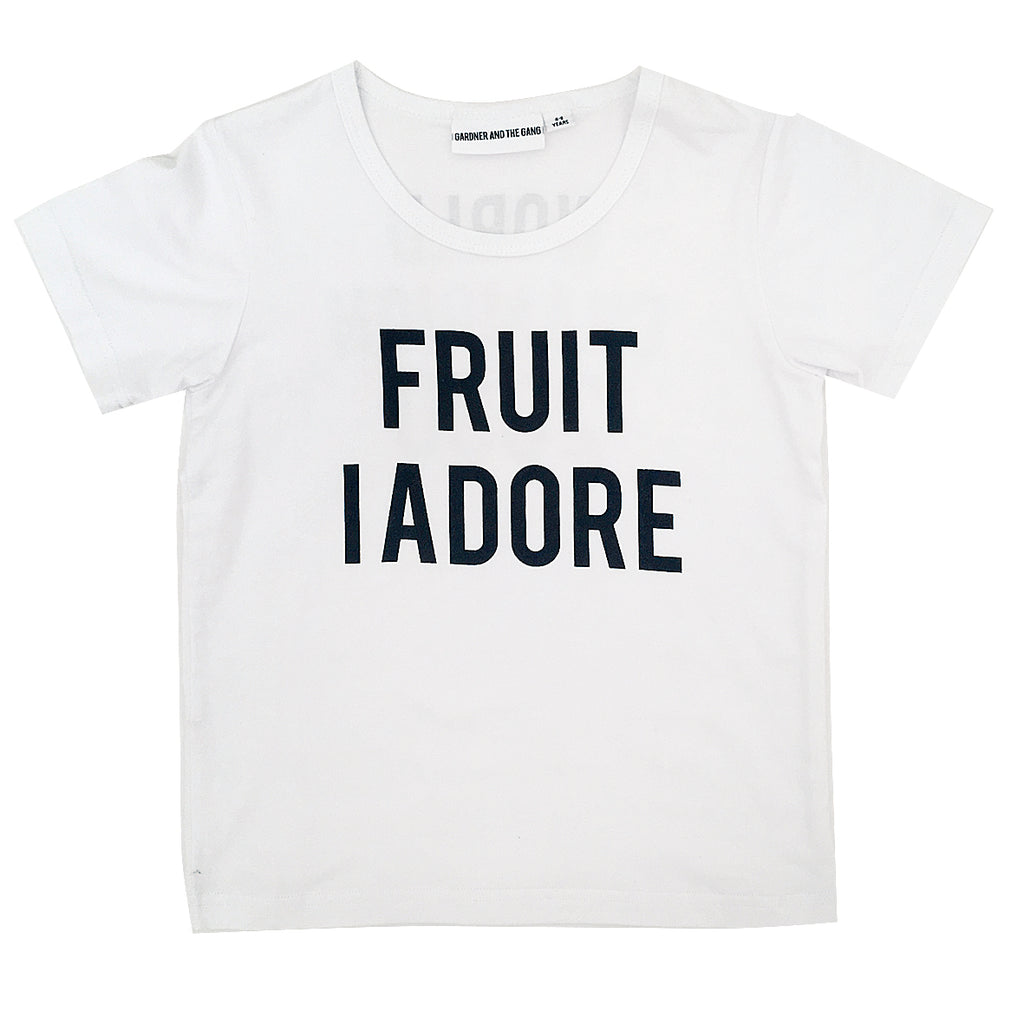 *The Cool Tee Fruit I Adore White