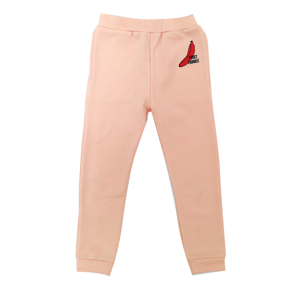 *Track Suit Pant Fruit I Adore Banana Beige