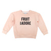 *The Classic Sweatshirt Fruit I Adore Beige