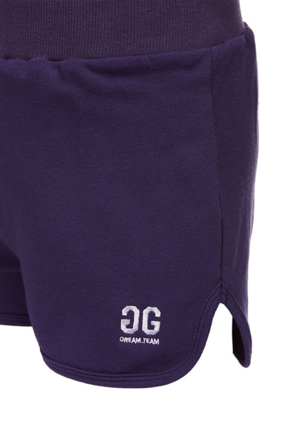 Baggy Shorts Navy Blue GG