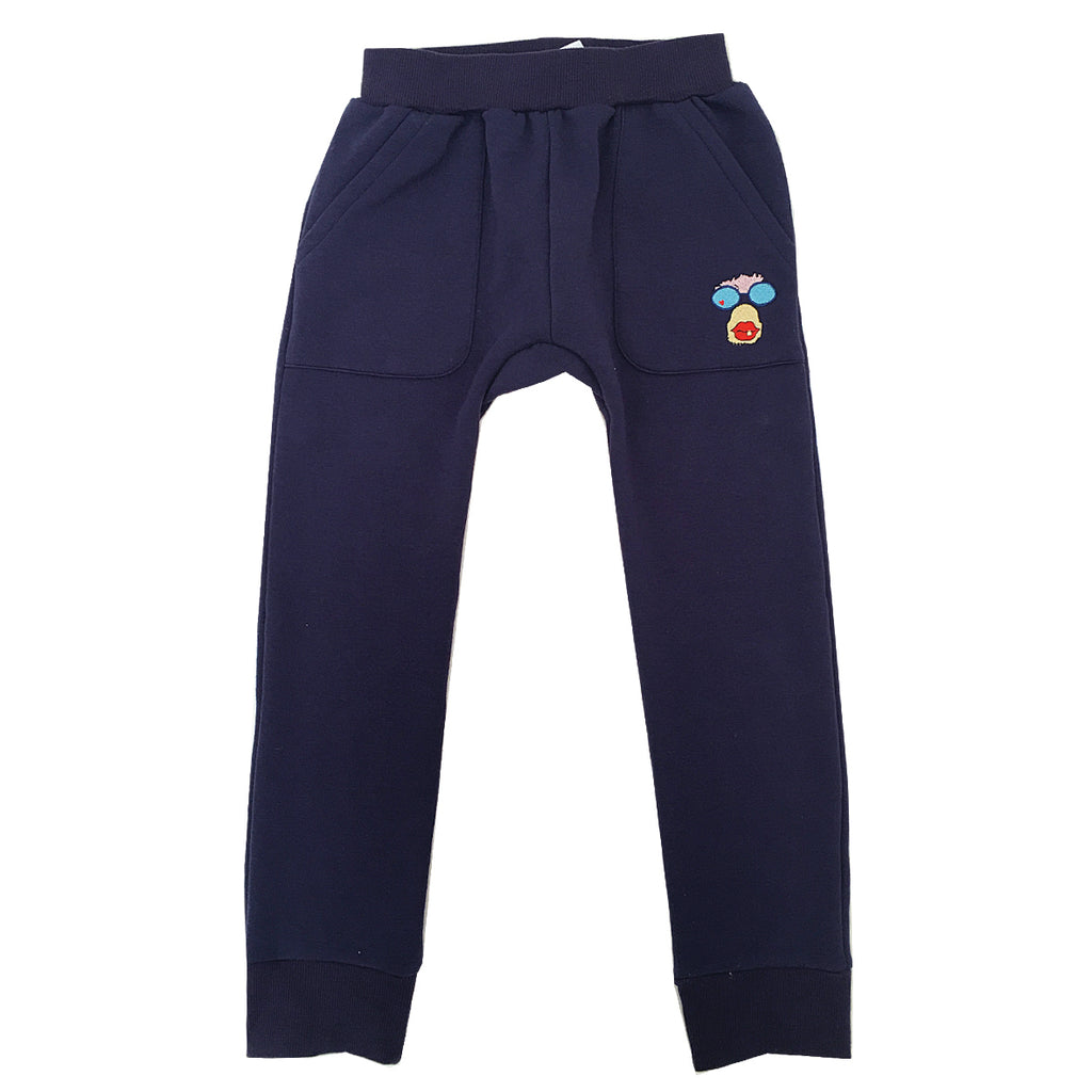 *Track Suit Pant Banana Lover Logo Blue