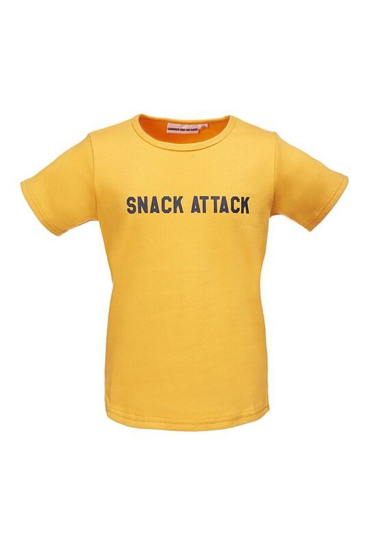 The Cool Tee Snack Attack Mustard