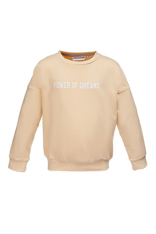 The Classic Sweatshirt Powder of Dreams Beige