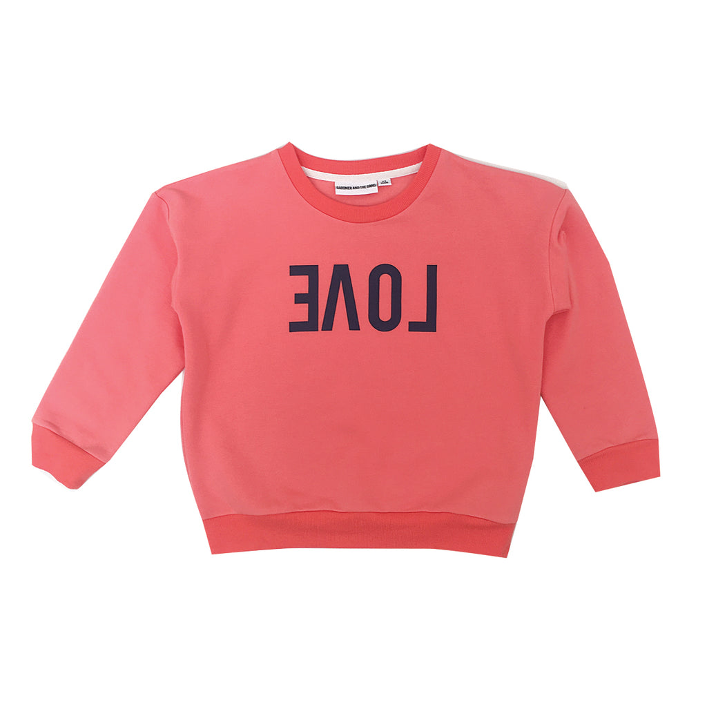 *The Classic Sweatshirt Reverse Love Red