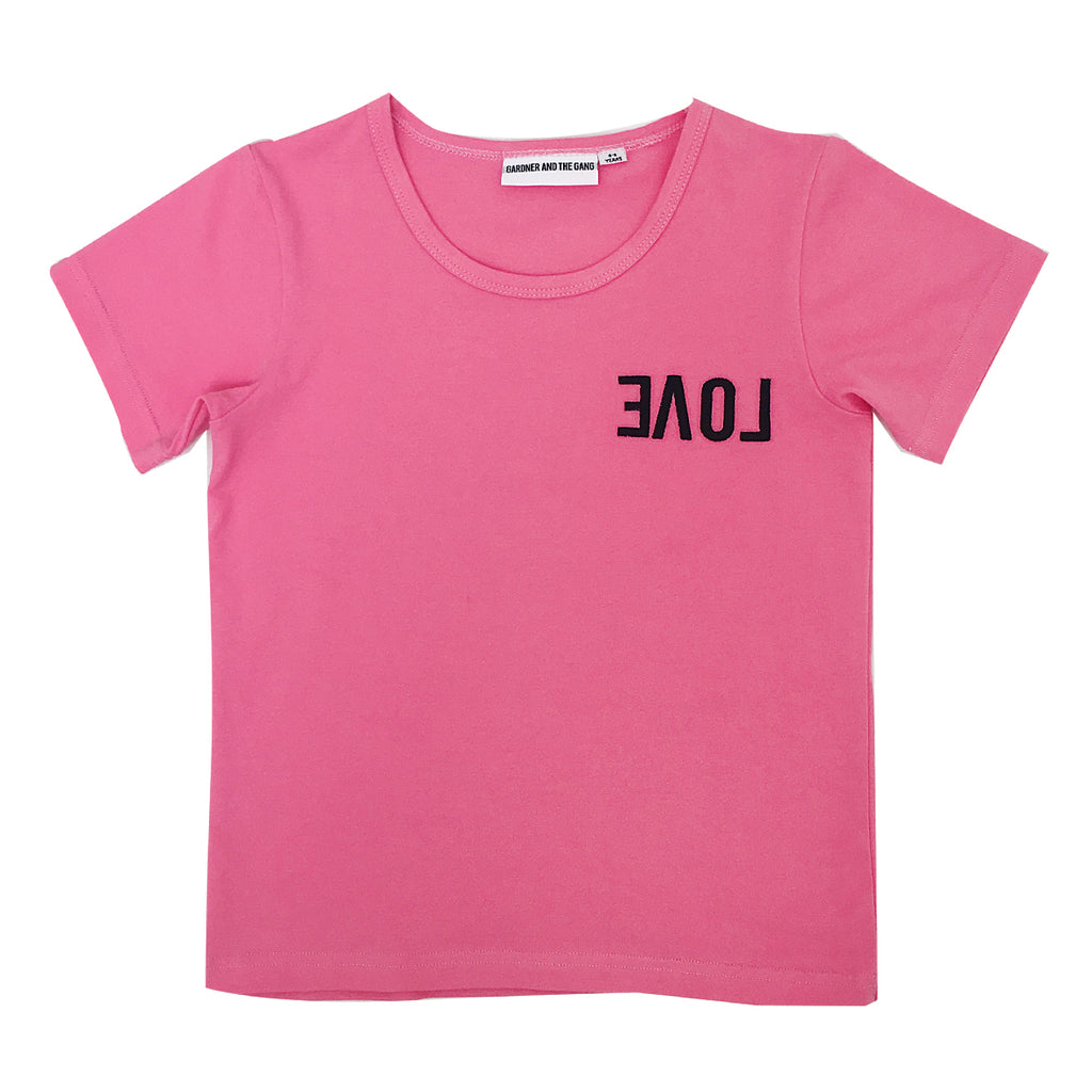 *The Cool Tee Reverse Love Pink