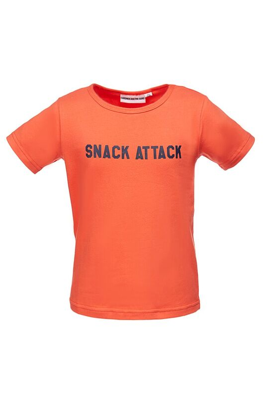 The Cool Tee Snack Attack Red