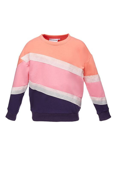 The Classic Sweatshirt Stripery Glitter