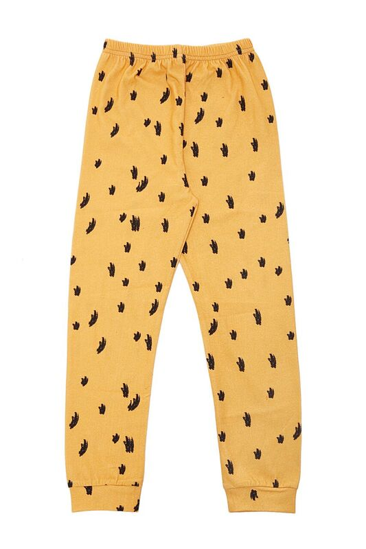 The Cool legging Leopard Mustard