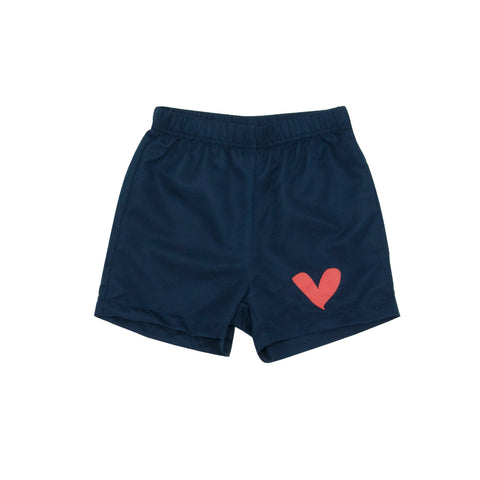 The Surf shorts Love Heart