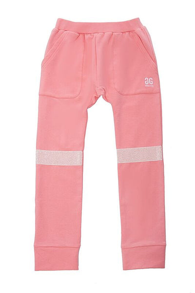 Pink Hang Out Pants Glitter