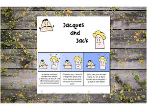 [EBOOK] Jacques & Jack - Faux-amis, but real friends!