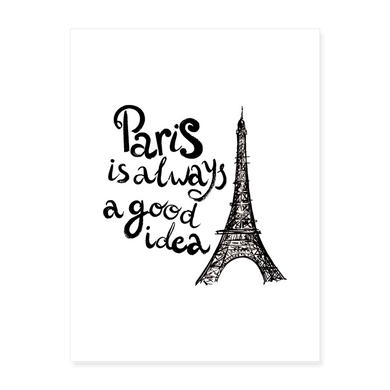 Un poster... Et Paris ! - white