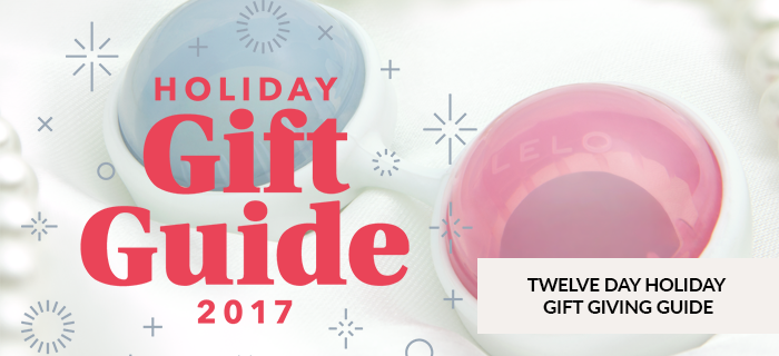 TWELVE DAY HOLIDAY GIFT GIVING GUIDE