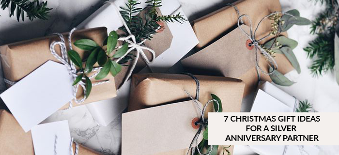 7 Christmas Gifts for your Silver Anniversary partner