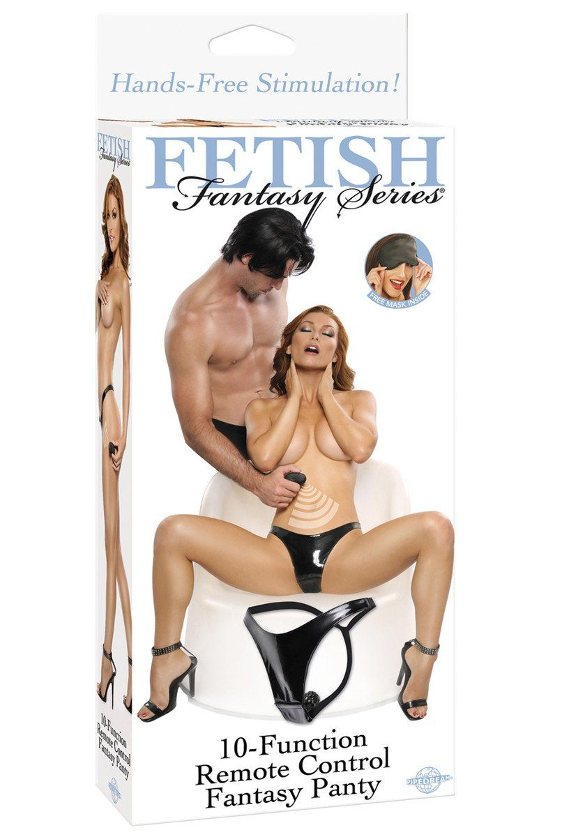 Fetish Fantasy 10 Function Remote Control Panty