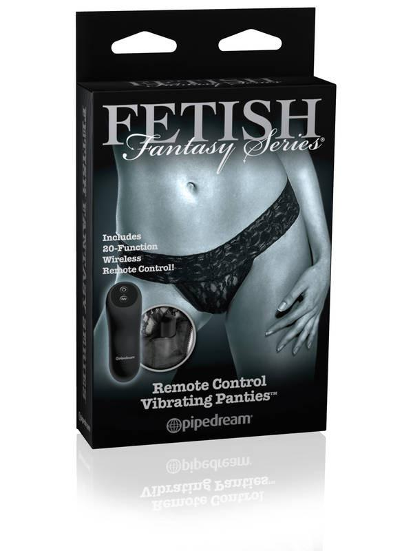 Fetish Fantasy Limited Edition Remote Control Vibrating Panty